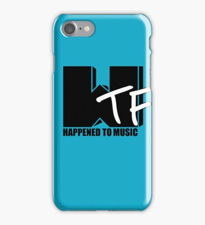 WTF Happened To Music Solid iPhone Case/Skin