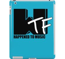 WTF Happened To Music Solid iPad Case/Skin