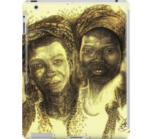 Africa's Untapped Natural Resources - Sepia iPad Case/Skin