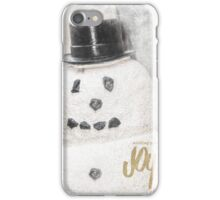 10627 Snowman Joy iPhone Case/Skin