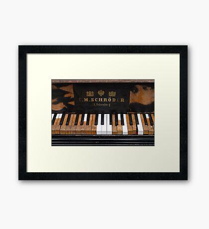 Vintage Melody Framed Print
