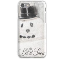 10628 Snowman iPhone Case/Skin