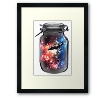 Found in Space Framed Print