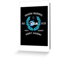 Shadow Marshal Team Greeting Card