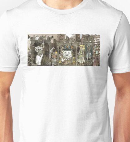 Steampunk City Unisex T-Shirt