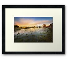 Small Pond Framed Print