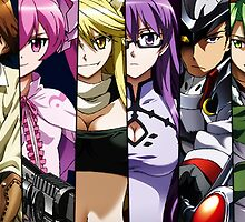 Akame Ga Kill Night Raid Members by Sazanami