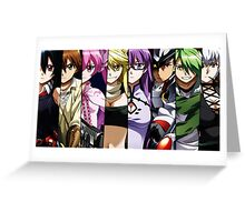 Akame Ga Kill Night Raid Members Greeting Card
