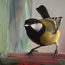 The Great Tit  (Parus major) by Dennis Melling