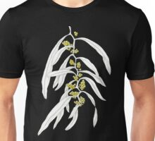 Acacia macradenia- Pen and Ink with watercolour wash Unisex T-Shirt