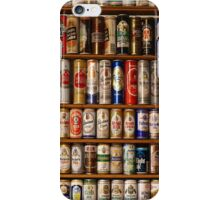 BEERS ON SHELVES iPhone Case/Skin