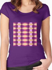 Lilac Tips (VN.417) Women's Fitted Scoop T-Shirt