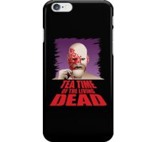 Tea Time of the Living Dead iPhone Case/Skin