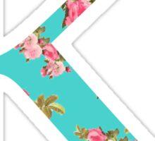 Kappa Rose Letter Sticker