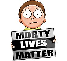 Morty Lives Matter Photographic Print
