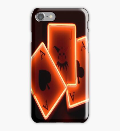 PLAY CARDS iPhone Case/Skin