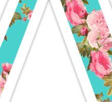 Lambda Rose Letter Sticker
