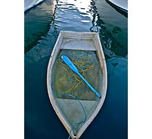 The Blue Oar Photographic Print