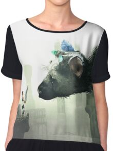 HQ The Last Guardian (vector) Chiffon Top