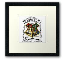 Hogwarts Alumni school Framed Print