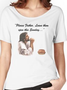 Jesus Chick-fil-a Women's Relaxed Fit T-Shirt