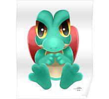 Shiny Treecko Poster