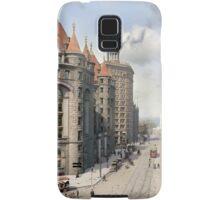 Niagara Street, Buffalo, 1908 Samsung Galaxy Case/Skin