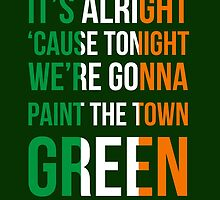 The Script - Paint The Town Green by Scienceandfaith