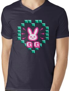 OVERWATCH DVA Mens V-Neck T-Shirt