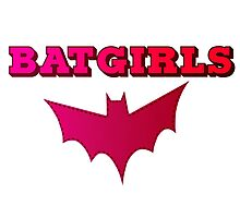 BATGIRLS - Pink Photographic Print