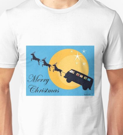 Split screen Xmas Unisex T-Shirt