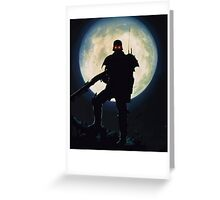 Jin Roh: The wolf brigade  Greeting Card