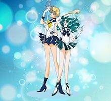 Sailor Uranus and Neptune  by Rickykun