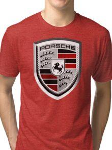 PORSCHE Tri-blend T-Shirt