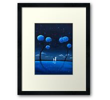 Reflection of the Universe Framed Print
