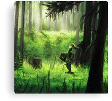 zelda link  Canvas Print