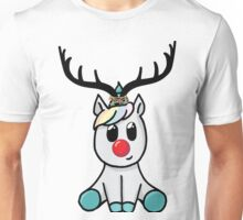 Reindeer (totally not a unicorn!) Unisex T-Shirt