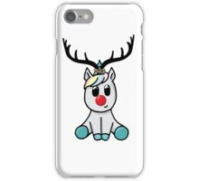 Reindeer (totally not a unicorn!) iPhone Case/Skin