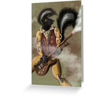 SteamPunk Skunk  Greeting Card
