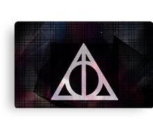 Deathly Hallows Canvas Print