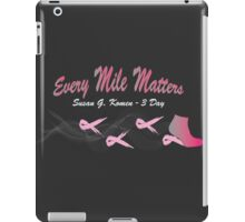 Every Mile Matters - 3 Day iPad Case/Skin