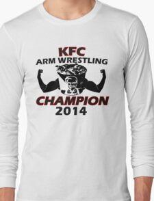 KFC Arm Wrestling Champion Design: Colt Cabana Long Sleeve T-Shirt