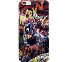 The Avengers Strike Back! iPhone Case/Skin
