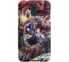 The Avengers Strike Back! Samsung Galaxy Case/Skin