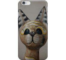 Cat Statue iPhone Case/Skin
