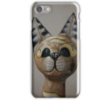 Cat Statue iPhone Case/Skin