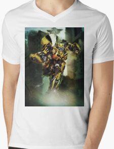 Bumblebee Mens V-Neck T-Shirt