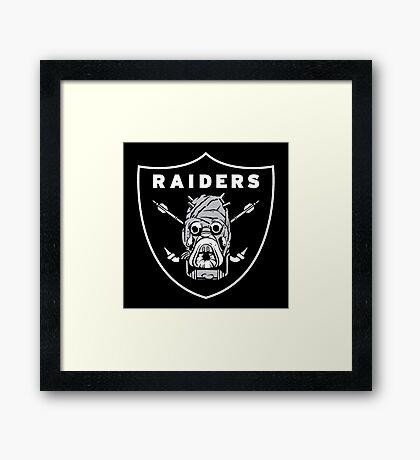 raiders ark Framed Print