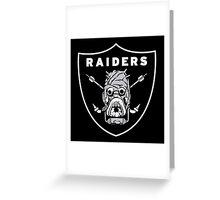 raiders ark Greeting Card
