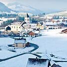 Brulisau Village, Switzerland by Stephen Knowles